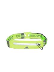 Adidas Unisex Neon Green Run Belt Waist Pouch