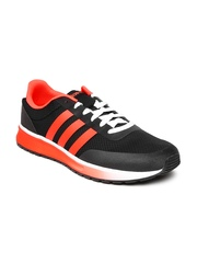 Adidas NEO Men Black & Orange V Racer TM II Sports Shoes