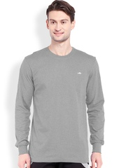 2go ACTIVE GEAR USA Grey Relaxed Fit Sports T-shirt