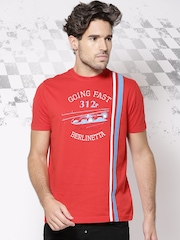 Ferrari Red Printed Berlinetta T-shirt