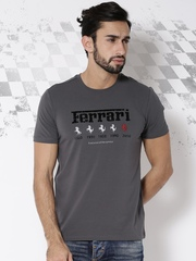 Ferrari Charcoal Grey Maranello Italia T-shirt