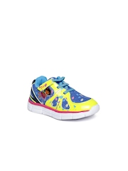 Dora by Kidsville Girls Fluorescent Green Casual Shoes