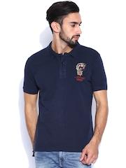 Ed Hardy Navy Polo T-shirt