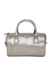 Baggit Women Gunmetal-Toned Handbag