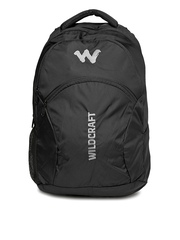Wildcraft Unisex Black Backpack