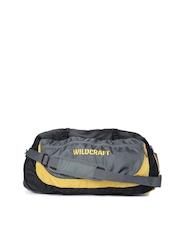 Wildcraft Unisex Grey & Yellow Rover 2 Duffel Bag