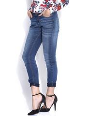 Elle Blue Ines Straight Jeans
