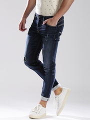 GUESS-Blue-Tapered-Slim-Fit-Jeans