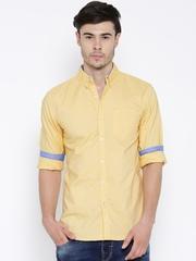 Wrangler Yellow Casual Shirt