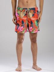 Tommy Hilfiger Multicoloured Tropical Print Swim Shorts