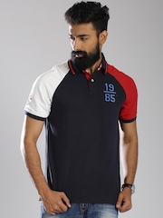Tommy Hilfiger Navy Classic Fit Polo T-shirt