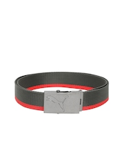 PUMA Unisex Grey Core Webbing Belt
