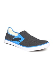 PUMA Unisex Charcoal Grey Lazy Slip On II DP Loafers