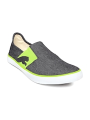 PUMA Unisex Charcoal Grey Lazy Slip On II DP Slip-Ons