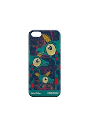 Creative Cases Unisex Teal Green Printed iPhone 5/5S Phone Cover