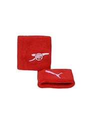 PUMA Unisex Set of 2 Arsenal Wristbands