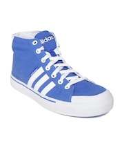Adidas NEO Men Blue Clementes Canvas Shoes