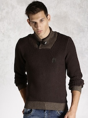 RDSTR Brown Sweater