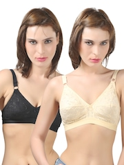 Bodycare Pack of 2 Full-Coverage Bras E5588BS(D)