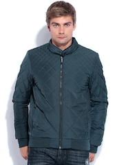 Arrow New York Teal Green Padded Jacket