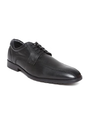 Fortune by Liberty Men Black Leather Formal Shoes