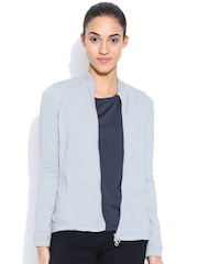 Adidas Grey STELLAWARMUPMID Barricade Jacket