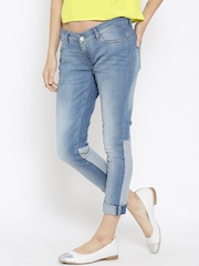 Lee Light Blue SD-Maxi Ankle Skinny Jeans