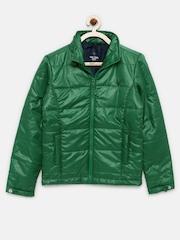 Allen Solly Boys Green Jacket