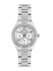 GUESS Women White Dial Watch W0111L1
