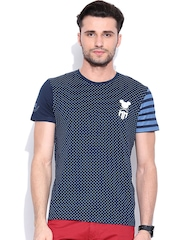 Mickey Navy Dot Print T-shirt
