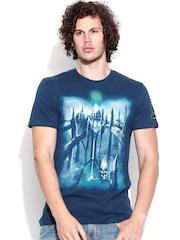 DC Comics Blue Graphic Print T-shirt