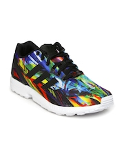Adidas Originals Women Black Printed ZX Flux Casual Shoes