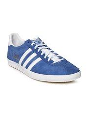 Adidas Men Blue Gazelle Sneakers