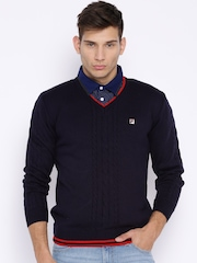 FILA Navy Avoy Sweater