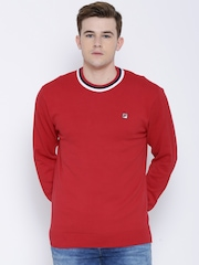 FILA Red Gosling Sweater