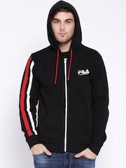 FILA Black Hooded Sweatshirt