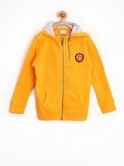 FS Mini Klub Boys Yellow Hooded Sweatshirt