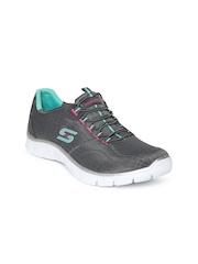 Skechers Women Grey Empire Walking Shoes