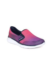 Skechers Women Pink Equalizer-Space Out Walking Shoes