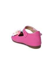 YK Girls Pink Mary Janes