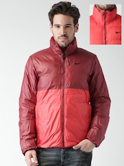 Nike Red & Maroon Alliance Reversible Jacket