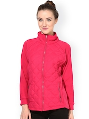 The Vanca Pink Quilted Jacket