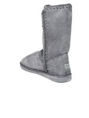 Miss CL by Carlton London Women Grey Boots
