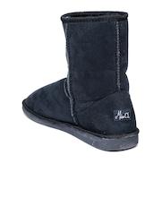 Miss CL by Carlton London Women Navy Boots