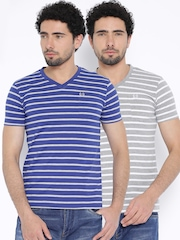 Duke Pack of 2 Striped T-shirts