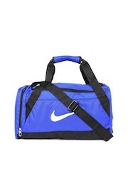 Nike Unisex Blue Brasilia 6 Duffle Bag