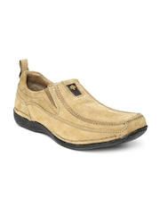 Woodland ProPlanet Men Camel Brown Leather Casual Shoes