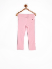 Tommy Hilfiger Girls Pink Track Pants