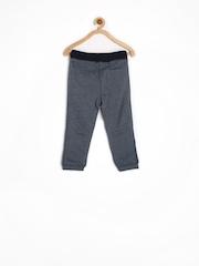 Tommy Hilfiger Boys Blue Melange Track Pants