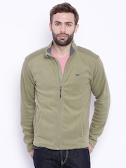 Wildcraft Beige Polyester Fleece Jacket